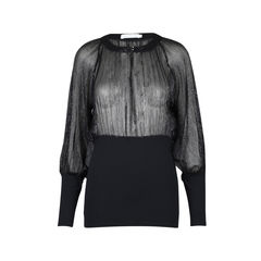 Shimmer Sheer Blouse