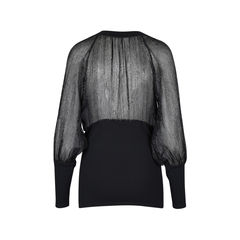 Anne fontaine sheer blouse 2?1511777501