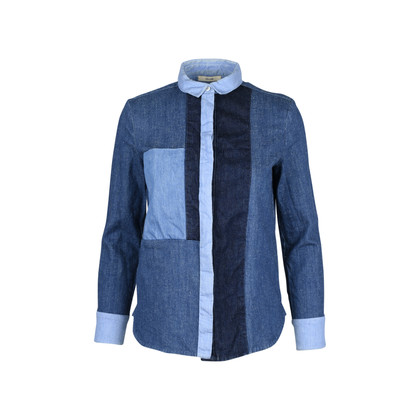 Celine Patchwork Denim Shirt