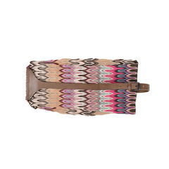 Knit Wrap Leather Belt