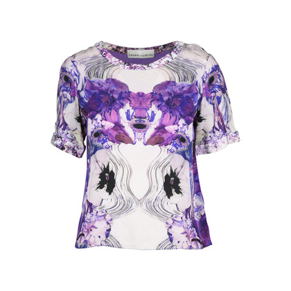 Authentic Second Hand Prabal Gurung Printed Silk Top (PSS-191-00029)