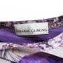 Authentic Second Hand Prabal Gurung Printed Silk Top (PSS-191-00029) - Thumbnail 2
