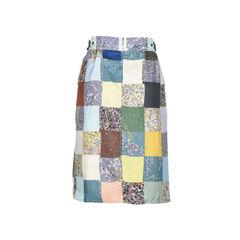 Dries van noten patchwork skirt 2?1512023587
