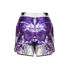 Prabal gurung printed wool and silk blend shorts 2?1512023673