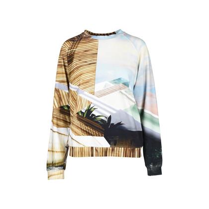 Authentic Second Hand Mary Katrantzou Printed Sweatshirt (PSS-191-00022)