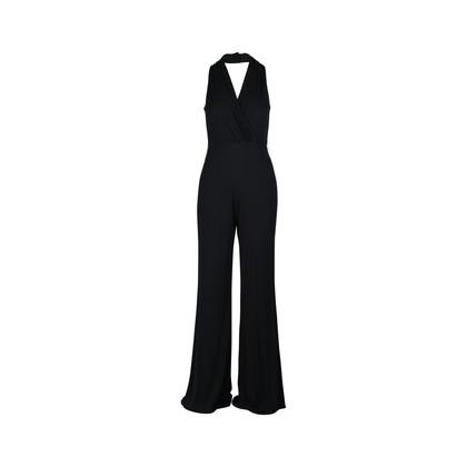 Authentic Second Hand Rickie Freeman Teri Jon Sleeveless Jumpsuit (PSS-097-00104)