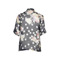 Dries van noten printed floral silk shirt 2?1512026676