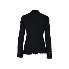 Elizabeth and james black wool blazer 2?1512362461