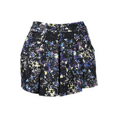 Abstract Printed Skort