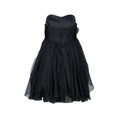 Notte by marchesa strapless organza ruffle dress 2?1512371340