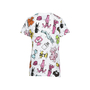 Authentic Second Hand Moschino Oversized Printed Cotton Jersey T-shirt (PSS-200-00725) - Thumbnail 1