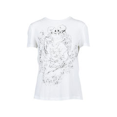 Skeleton Floral T-shirt