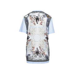 Givenchy mirrored angels printed top 2?1512383208