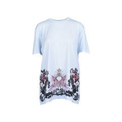 Mirrored Floral Printed Top