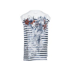 Jean paul gaultier dragon and scenery motifs printed sleeveless top 1?1512383400