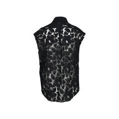 Elizabeth and james sheer lace sleeveless top 2?1512446702