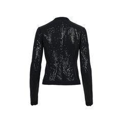 Emporio armani sequin embellished cardigan 2?1512456551