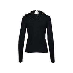 Balenciaga embellish silk sweater 2?1512456778