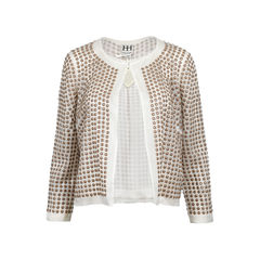 Sheer Round Stud Jacket