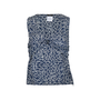 Authentic Second Hand Chanel CC Logo Print Sleeveless Top (PSS-200-00508) - Thumbnail 0
