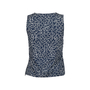 Authentic Second Hand Chanel CC Logo Print Sleeveless Top (PSS-200-00508) - Thumbnail 1