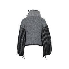 Rag bone cropped oversized sweater 2?1512538227
