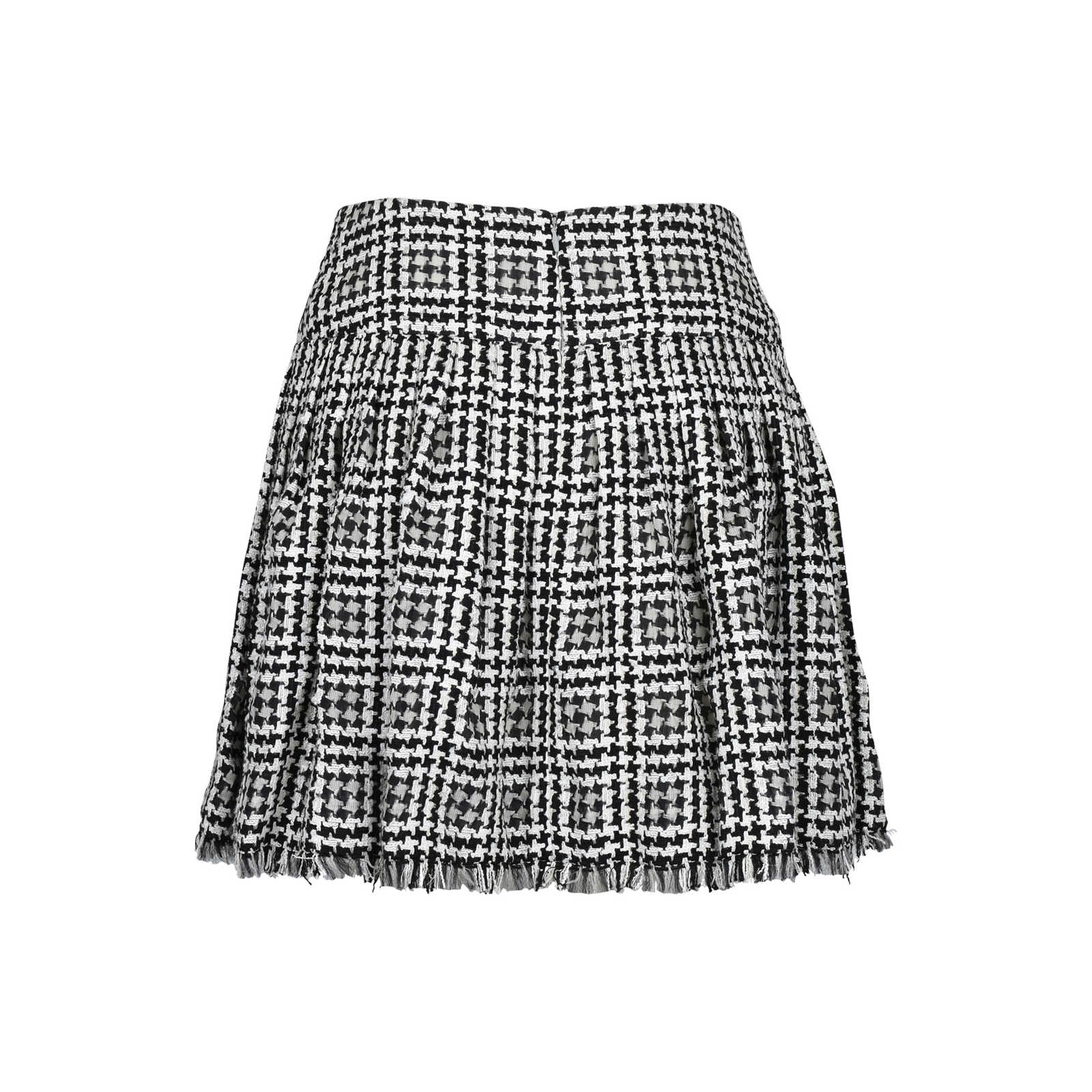 6d5ddcbd348b ... Authentic Second Hand Chanel Houndstooth Tweed Skirt (PSS-200-00568) -  Thumbnail ...