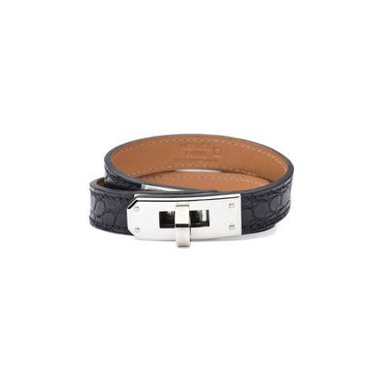 Authentic Second Hand Hermès Alligator Kelly Double Tour Bracelet (PSS-424-00025)