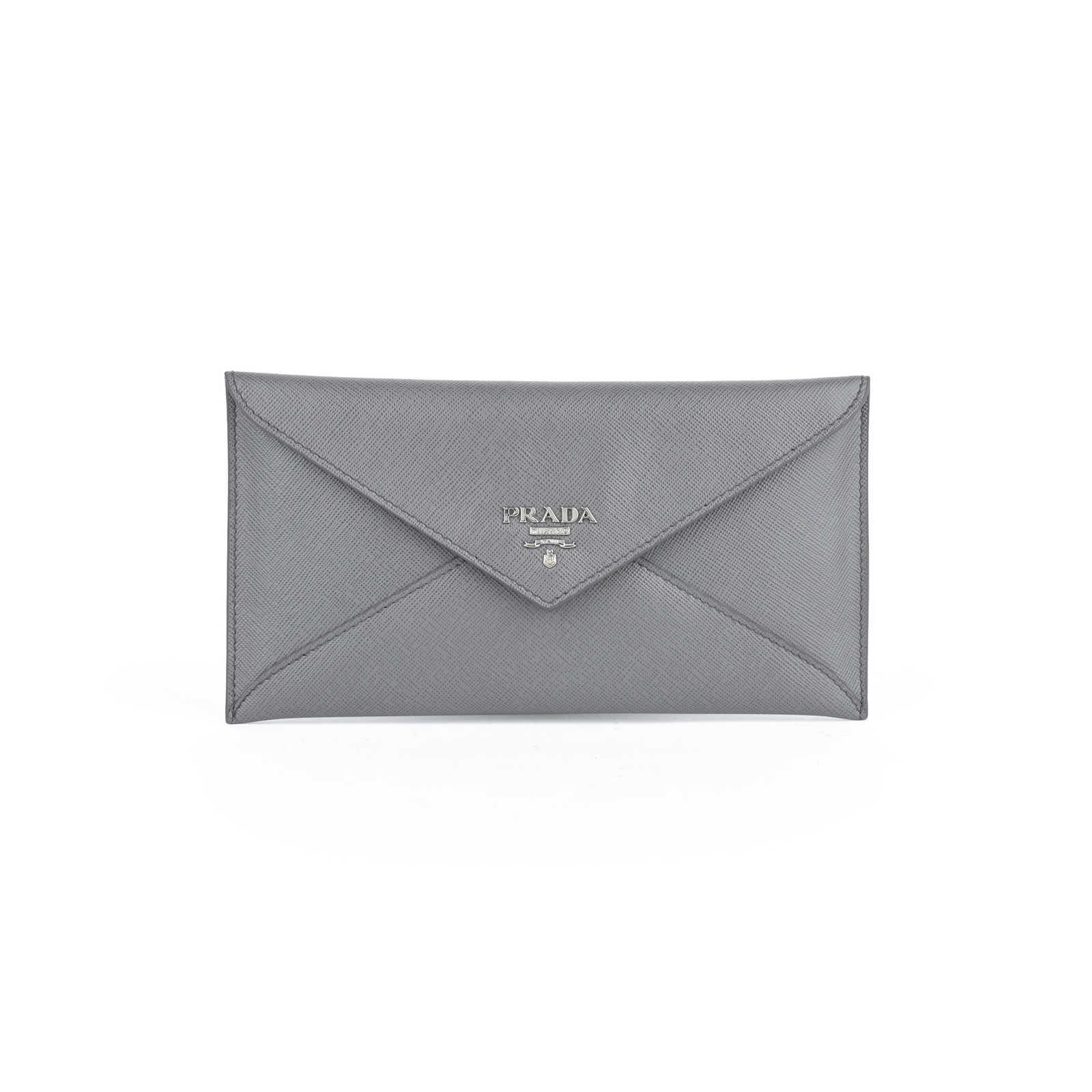 f2ca2fbcc75d01 Authentic Second Hand Prada Envelope Clutch (PSS-424-00016) - Thumbnail 0  ...