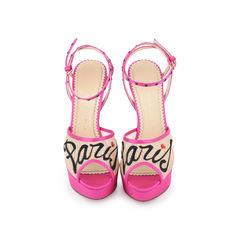 Paris Satin Sandals