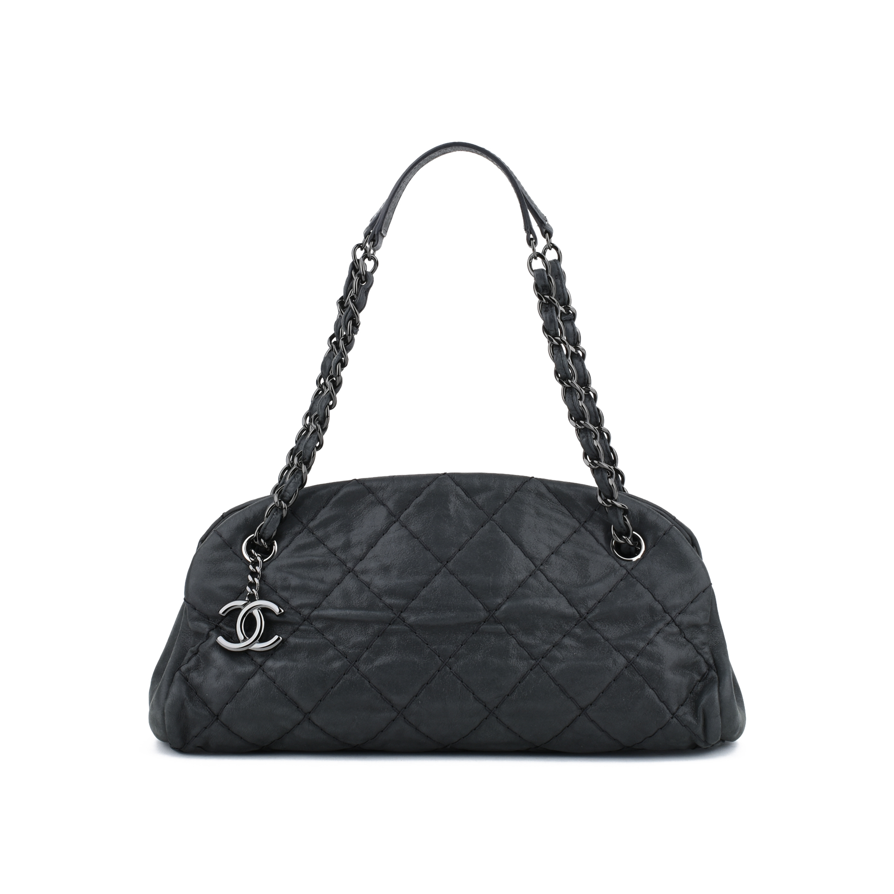 68eef3c365ae Authentic Second Hand Chanel Mademoiselle Bowling Bag (PSS-416-00001) | THE  FIFTH COLLECTION