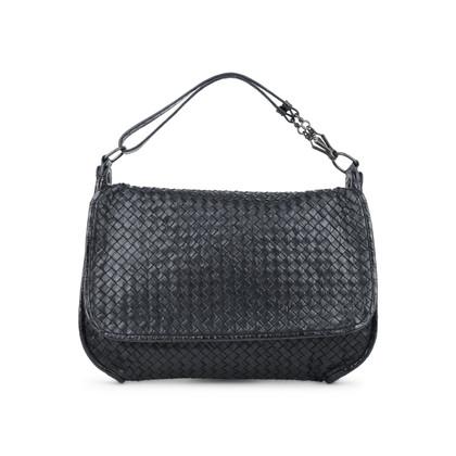 Authentic Second Hand Bottega Veneta Intrecciato Flap Bag (PSS-416-00002)
