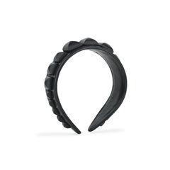 Studded Lamskin Leather Headband