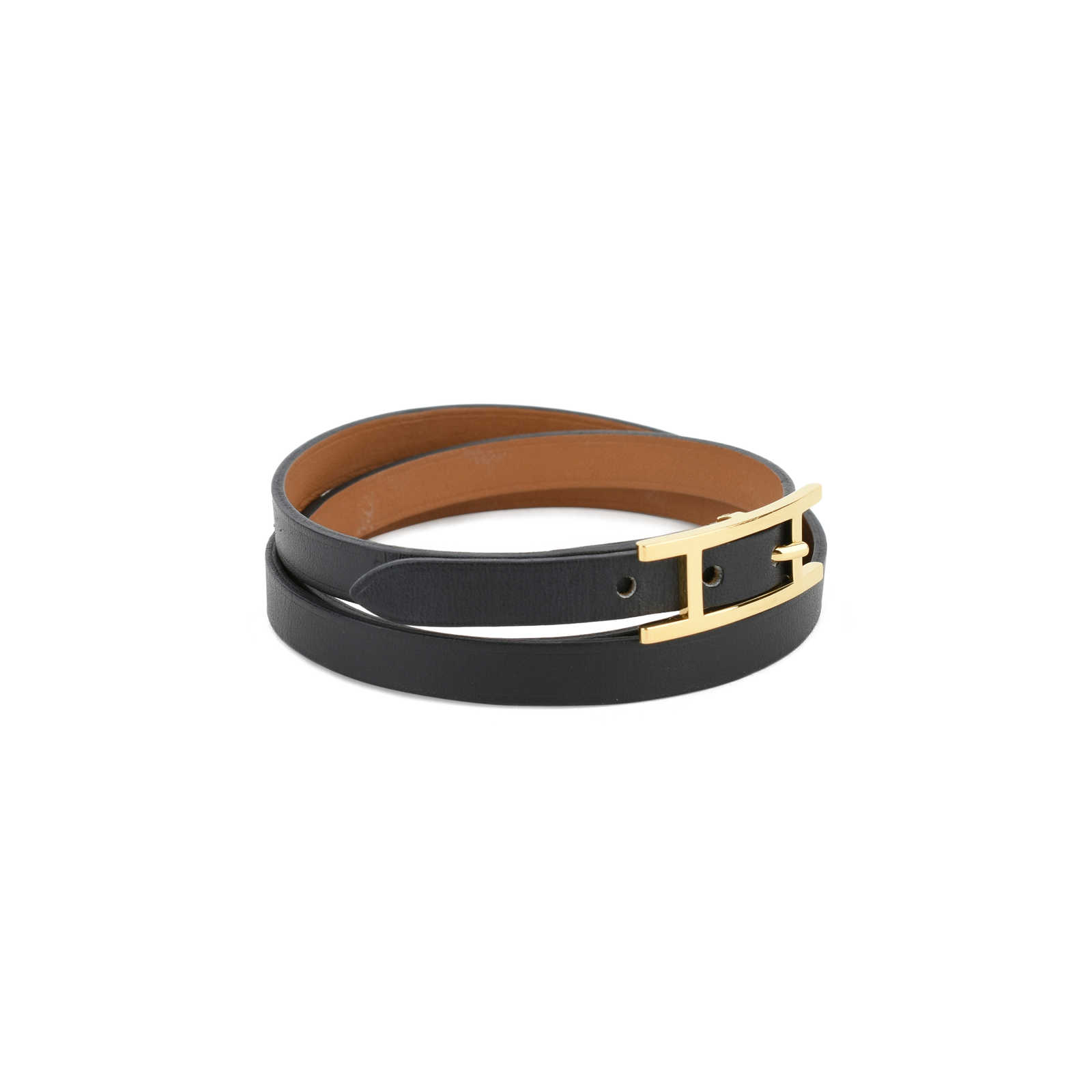 116db0938e0b ... Authentic Second Hand Hermès Hapi 3 MM Bracelet (PSS-114-00029) ...