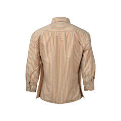 Bottega veneta striped 3 4 sleeve top 2?1513657091