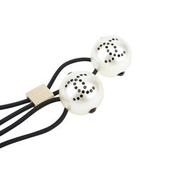 Chanel double pearl hair tie white 2?1513764699