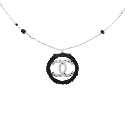 Second hand chanel logo wreath necklace the fifth collection chanel logo wreath necklace aloadofball Image collections