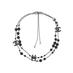 Reversible 'CC' Sautoir Necklace