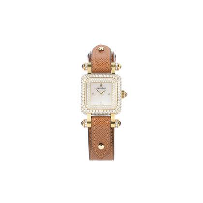 Authentic Second Hand Audemars Piguet 18K Yellow Gold Diamonds Deva Watch (PSS-200-00999)