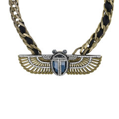 Lanvin luxor winged beetle necklace 1?1513845587