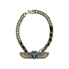 Luxor Winged Beetle Necklace