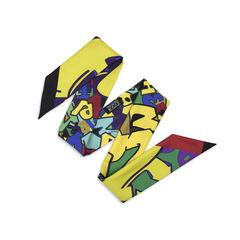 Hermes black graff graffiti twilly multicolour 2?1513848249