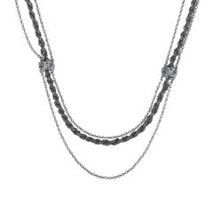 Chanel multichain intricate long necklace 1?1513851714
