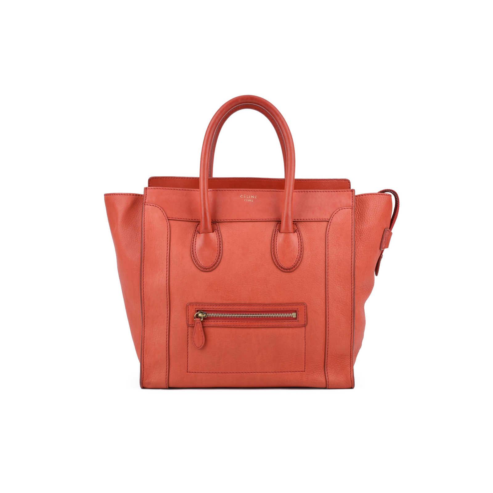 0d06616dd7c8 Authentic Second Hand Céline Mini Luggage Tote (PSS-436-00002) - Thumbnail  ...