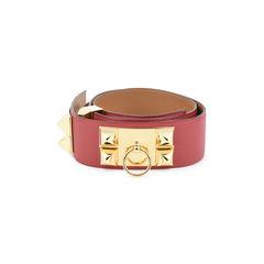 Hermes collier de chien belt red 2?1514280506