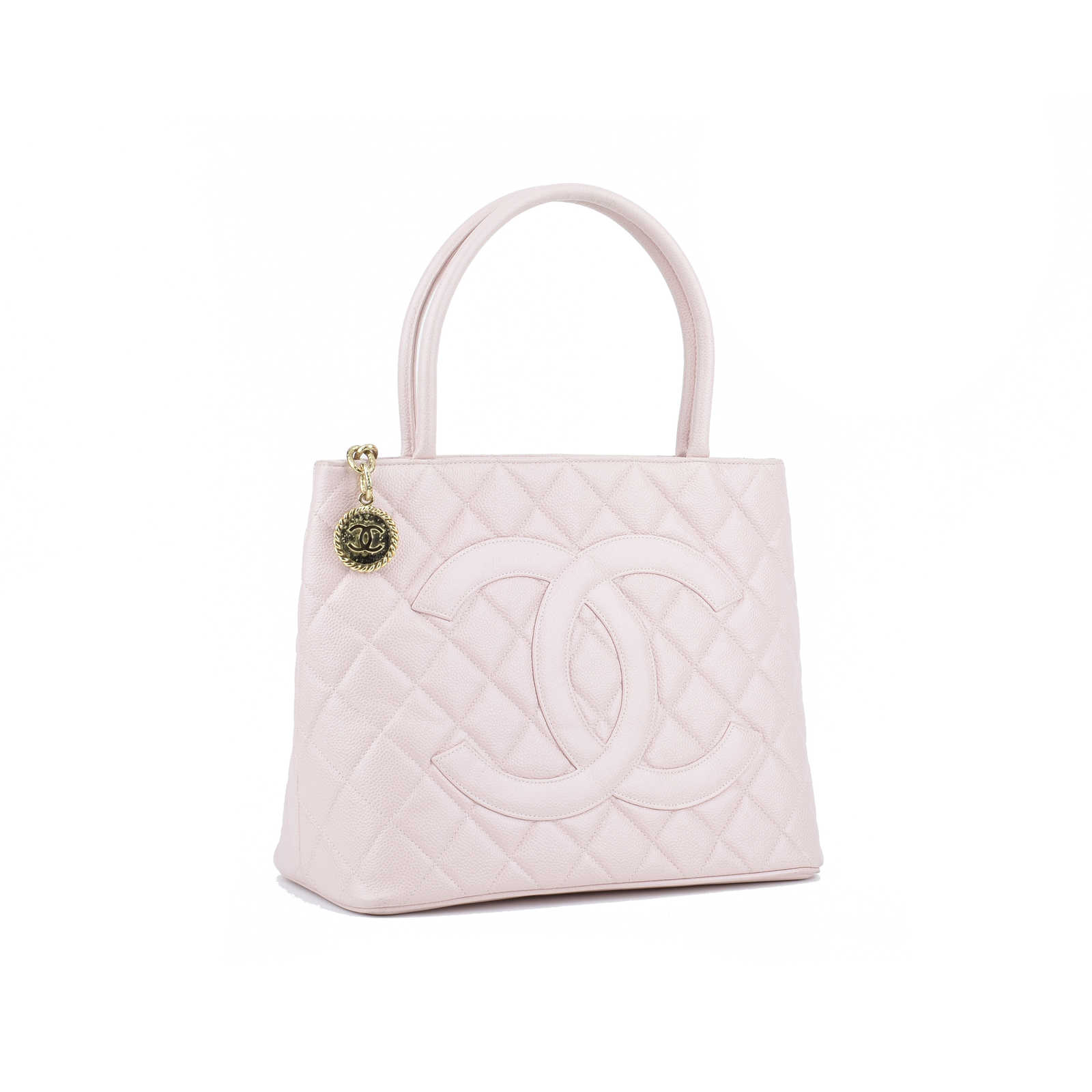 a21e64e90881 ... Authentic Second Hand Chanel Medallion Tote Bag (PSS-355-00017) -  Thumbnail ...