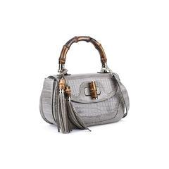 Gucci new bamboo crocodile shoulder bag 5?1514370576