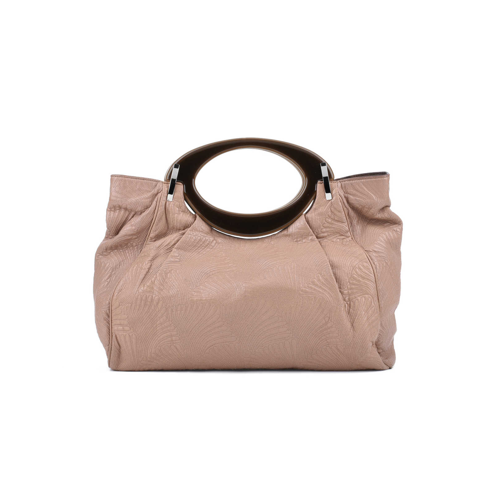 1b89e94708b Authentic Pre Owned Marni Resin Handle Stitched Handbag (PSS-075-00070) ...