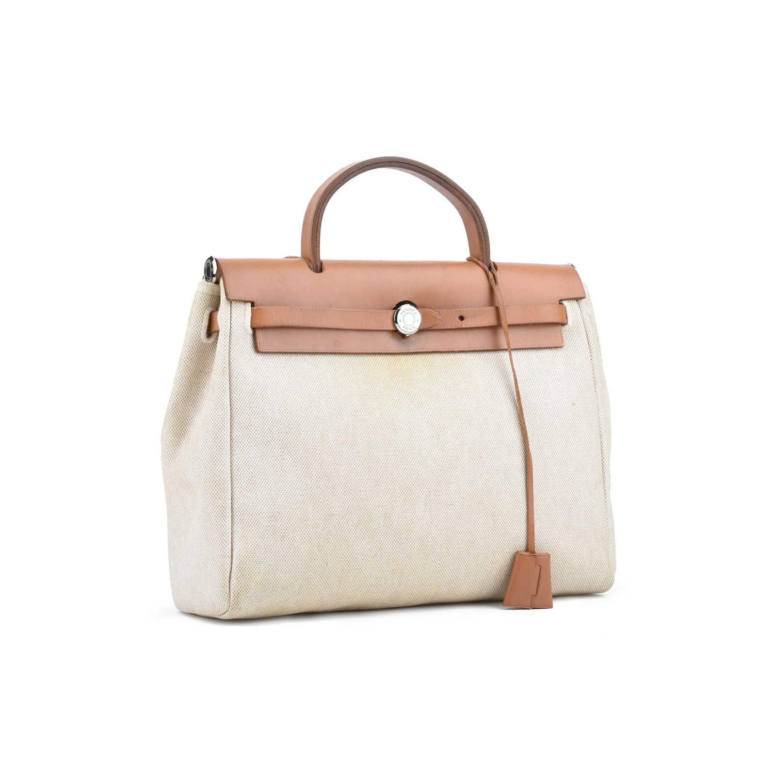 7b346b19c625 ... Authentic Second Hand Hermès Herbag PM (PSS-075-00080) - Thumbnail 2 ...
