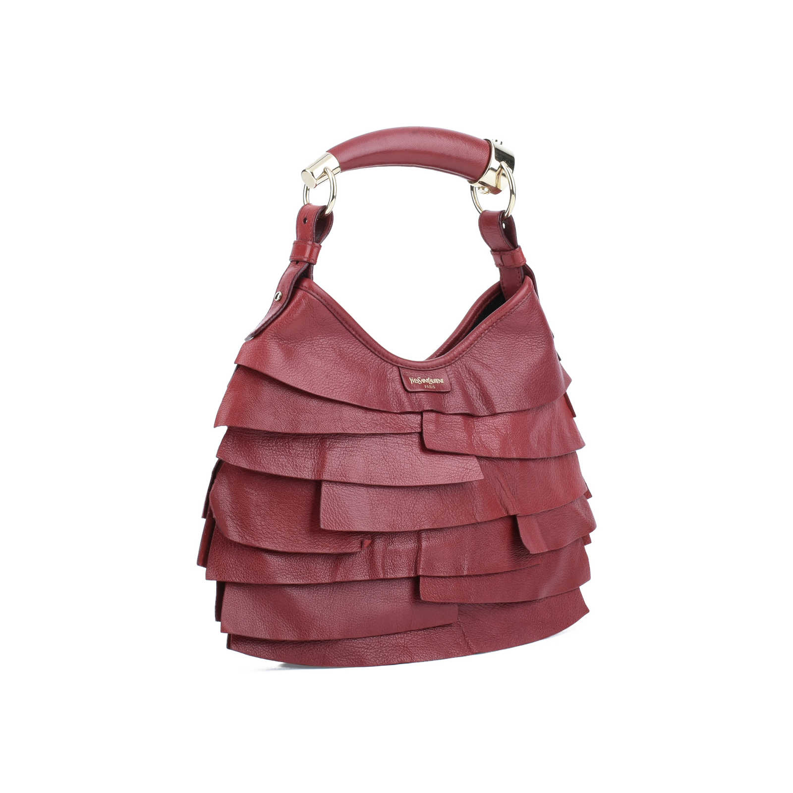 340cb7367b ... Authentic Second Hand Yves Saint Laurent St Tropez Mombasa Bag  (PSS-075-00072 ...